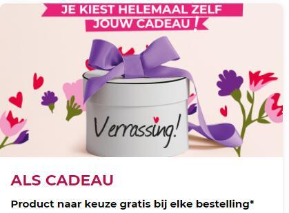 Duurste product gratis + Verrassingscadeau @ Yves Rocher