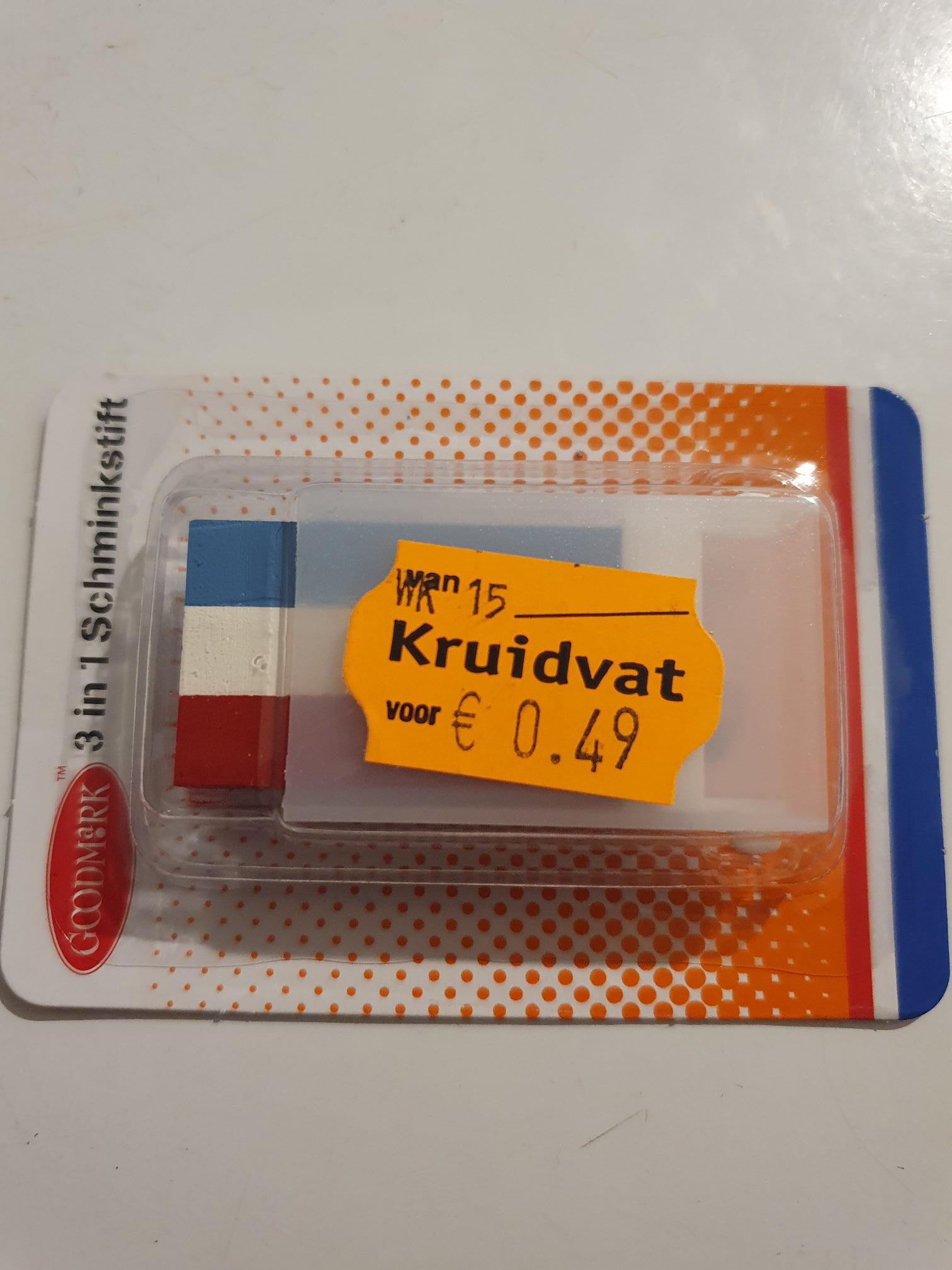 Schminkstift €0.49 @kruidvat