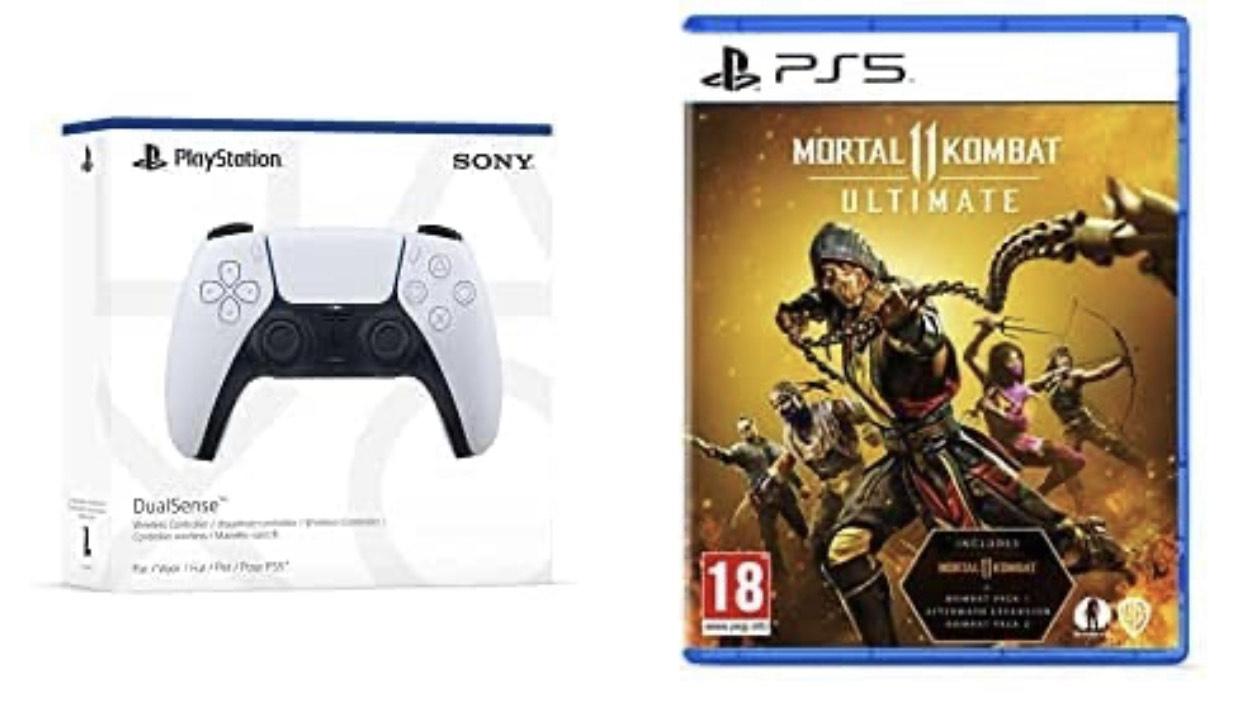 PlayStation 5 DualSense Wireless Controller & Mortal Kombat 11