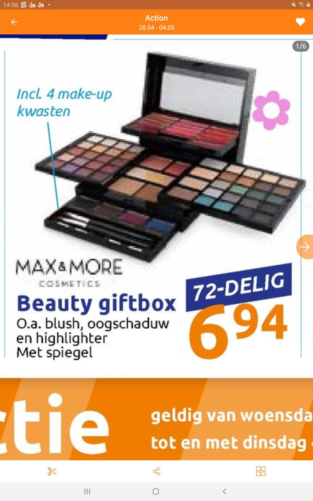 Moederdag beauty giftbox @action