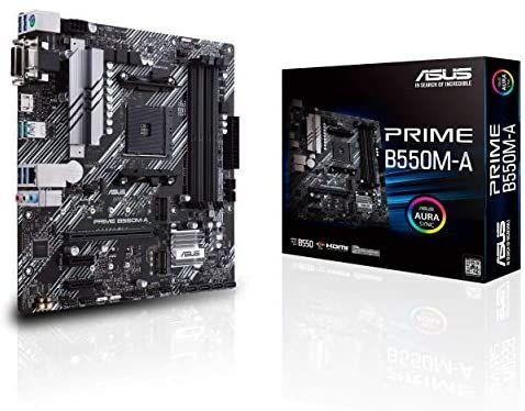 ASUS Prime B550M-A moederbord (micro ATX, model zonder Wi-Fi)