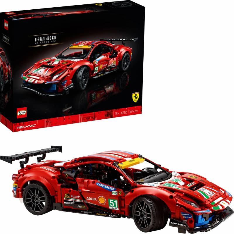 "LEGO Ferrari 488 GTE ""AF Corse #51"" (42125) [LOKAAL?]"