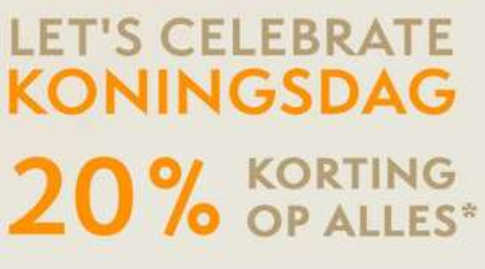20% korting @ street one