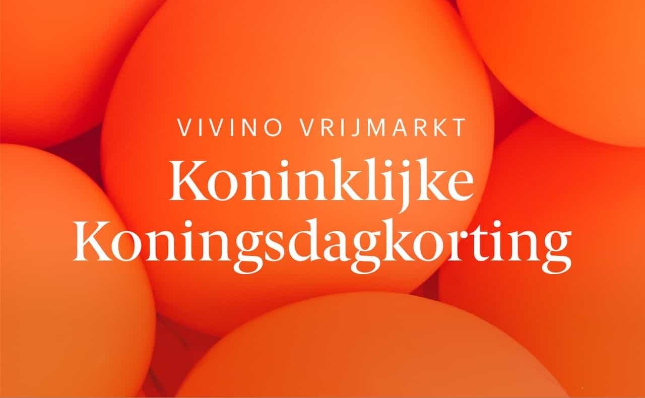10% korting op wijnen verkocht door Vivino