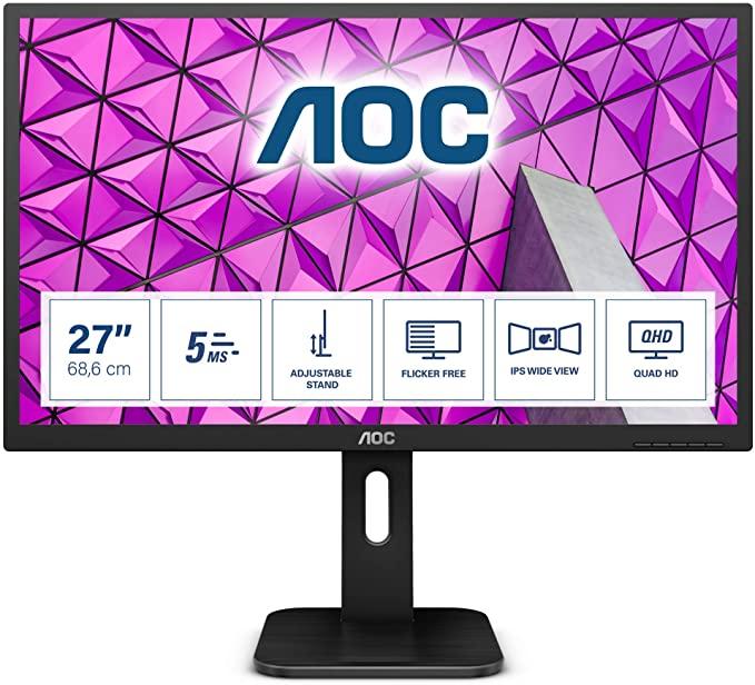 "AOC Q27P1 27"" IPS QHD Monitor @ Amazon.nl"