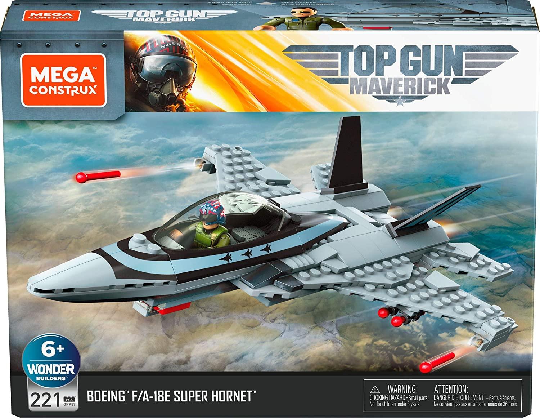 Mega Construx Top Gun playset @ Amazon.nl