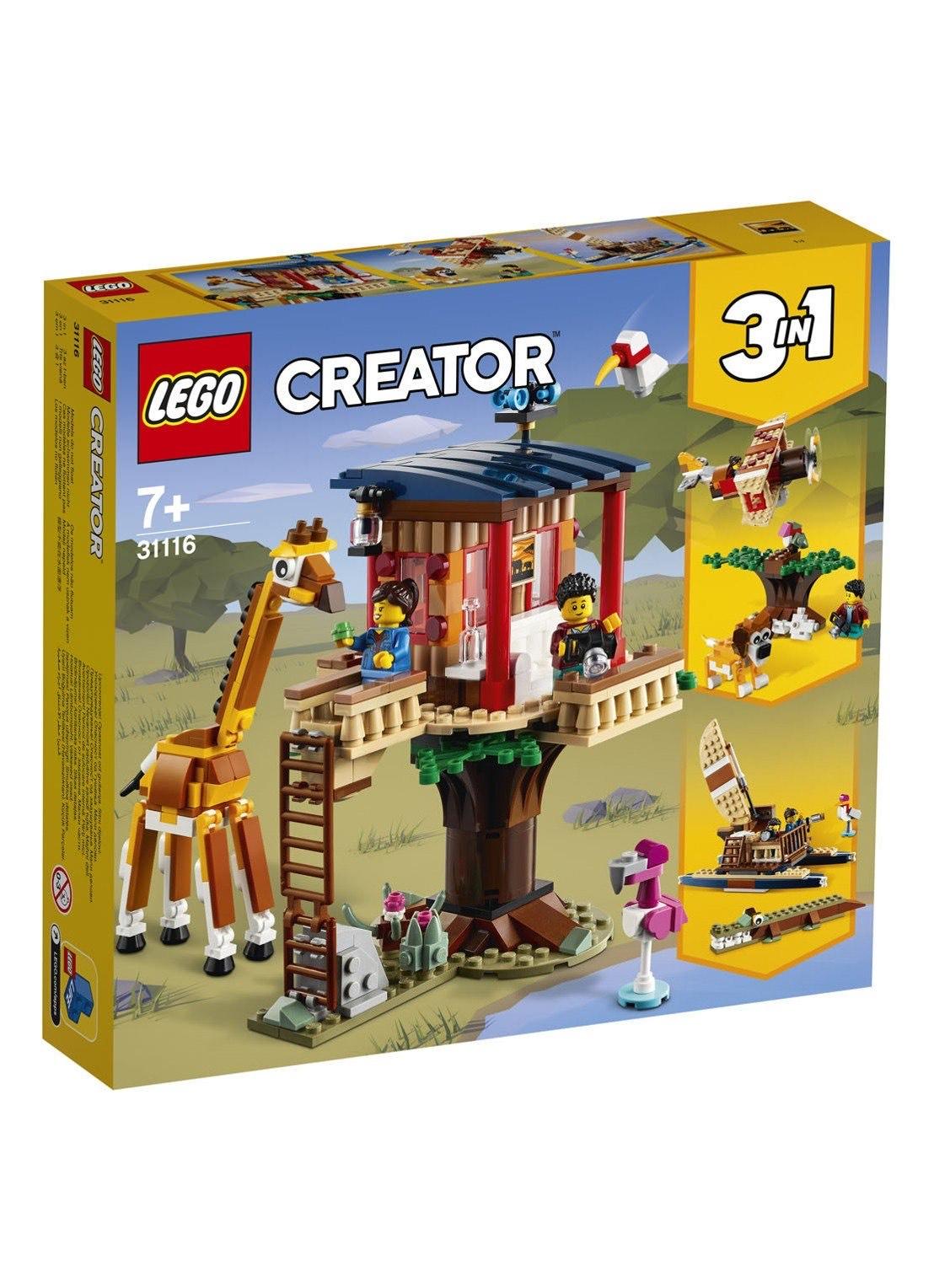 LEGO Creator 3-in-1 - Safari wilde dieren boomhuis (31116)
