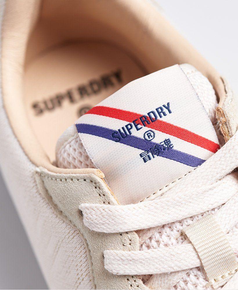 Superdry Retro Logo Runner dames sneaker