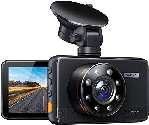 Apeman dashcam 1080P HD camera en 170 graden kijkhoek