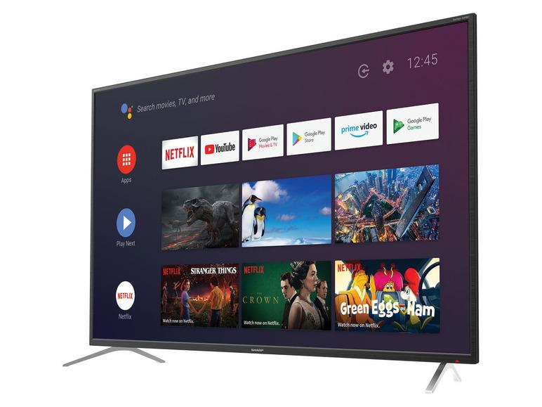 "SHARP 65"" 4K Android smart TV (65BL2EA)"