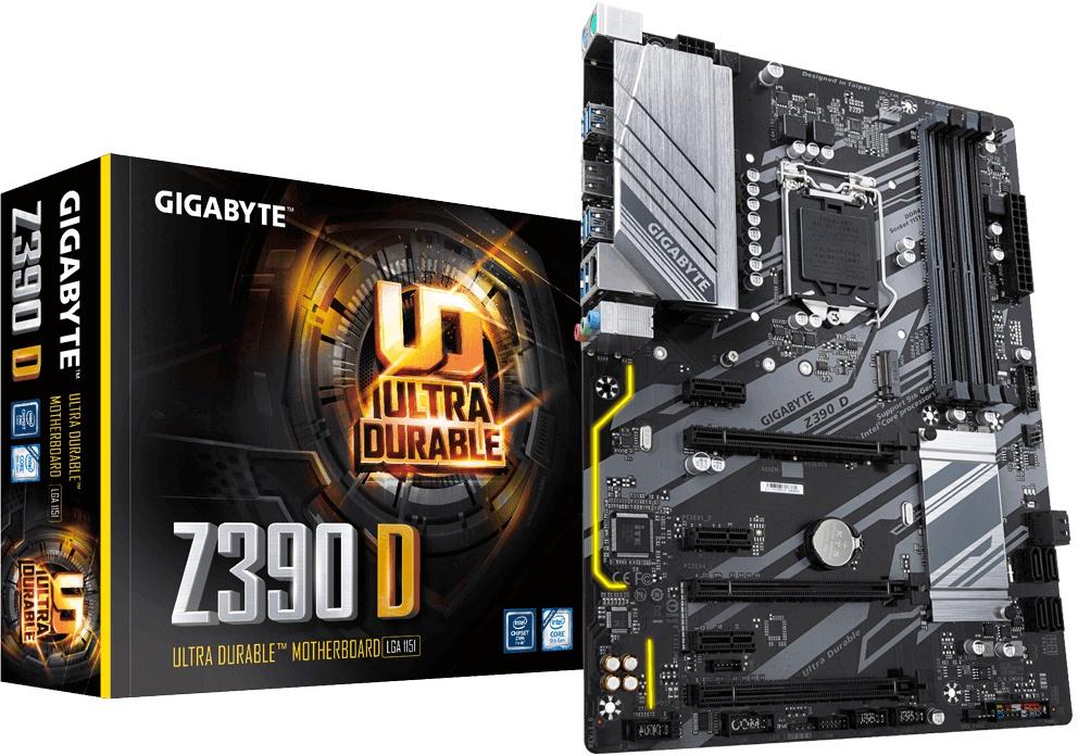 Gigabyte Z390 D Socket 1151/Z390 DDR4-moederbord @ Amazon.nl