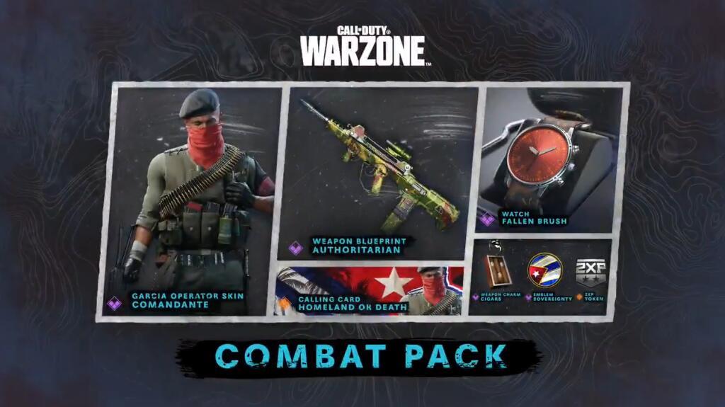 Gratis (voor PS+) Call of Duty: Black Ops Cold War & Warzone - Combat Pack (Comandate)