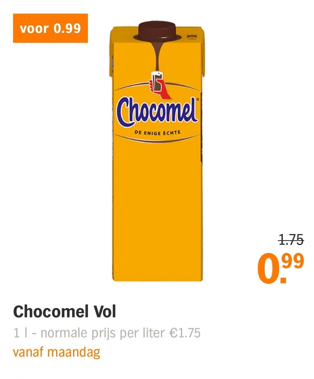 Chocomel @ Albert Heijn weer 0.99 eur