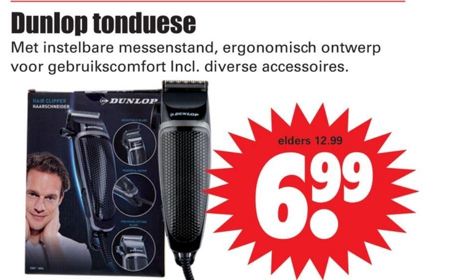 Dunlop Tondeuse bij Dirk