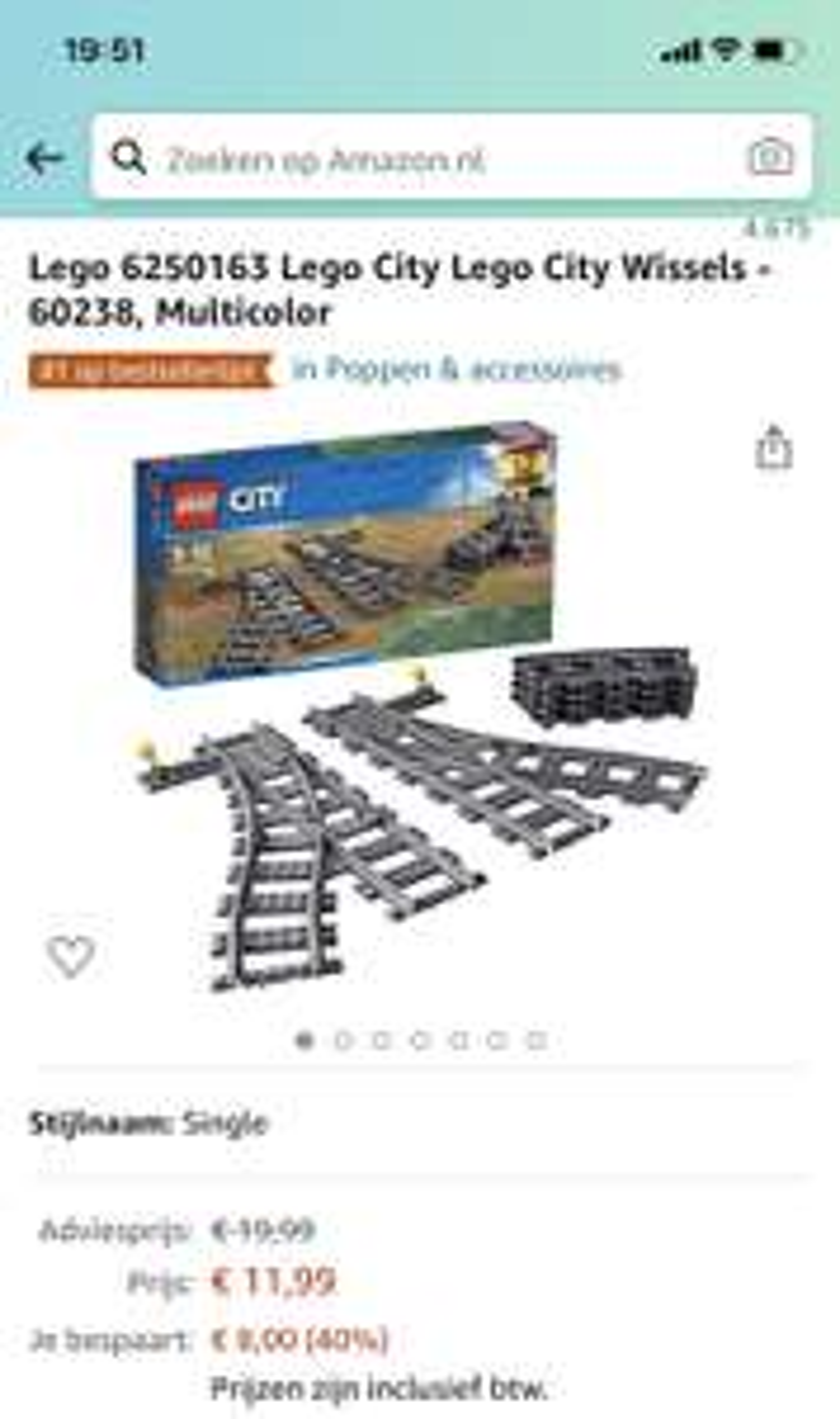 Lego 6250163 Lego City Exchange - 60238
