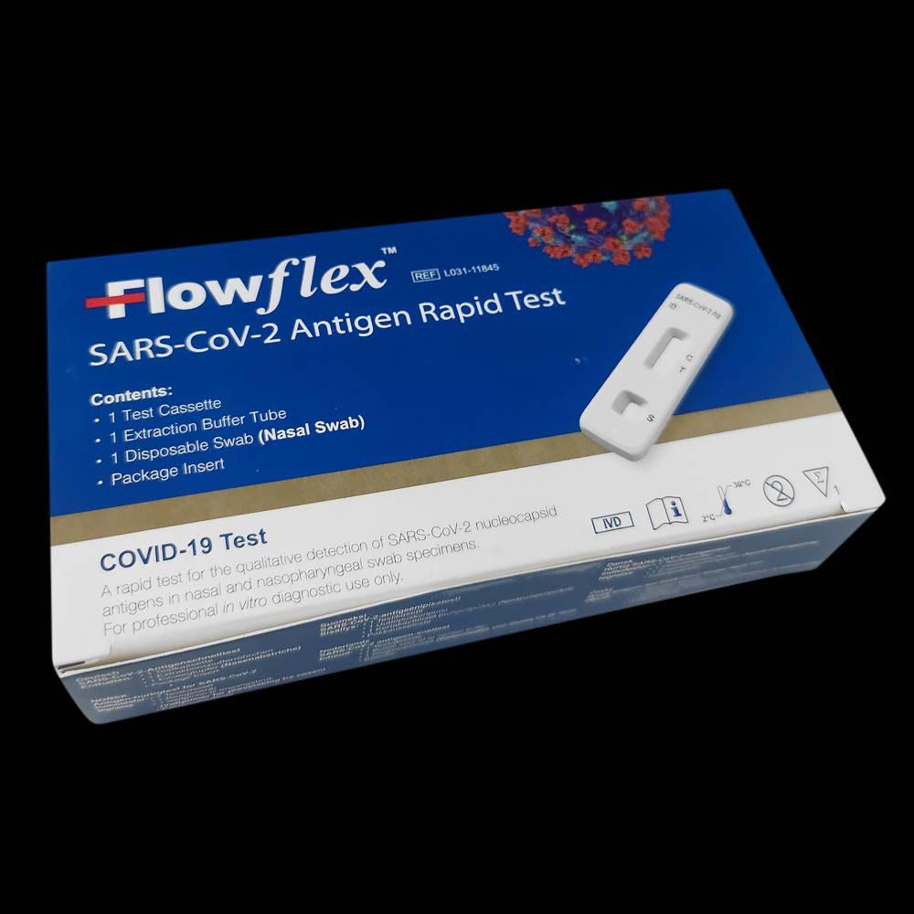 5x FlowFlex zelftesten voor € 10 bij Wibra
