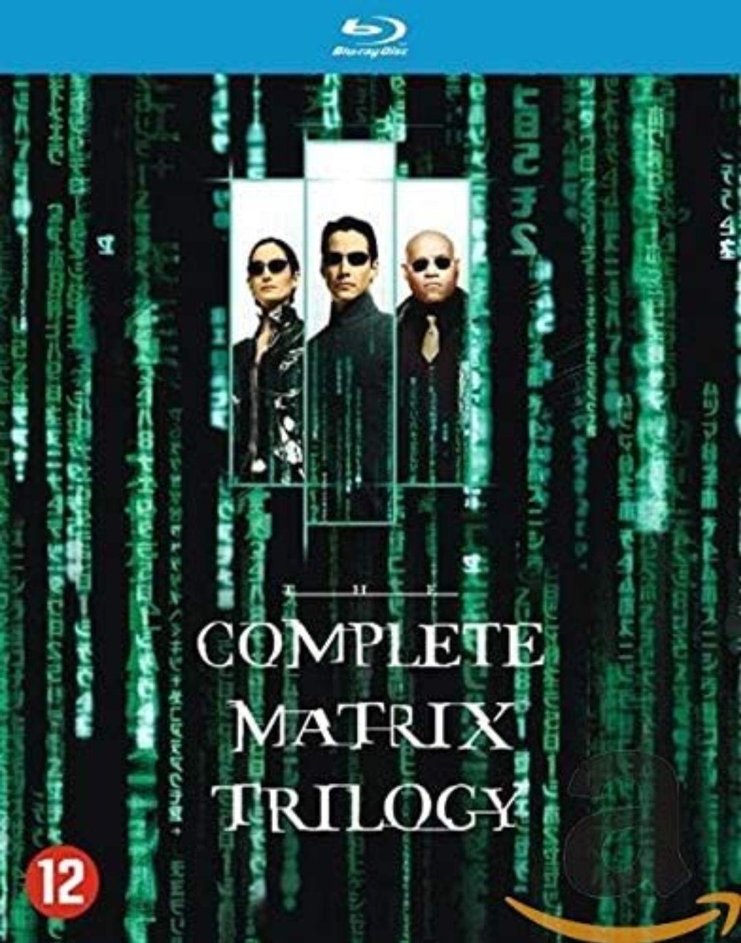 The Complete Matrix Trilogy [Blu-ray] - Terug van weggeweest!