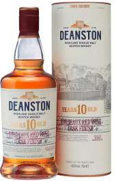 DEANSTON 10 YEAR BORDEAUX RED WINE CASK FINISH