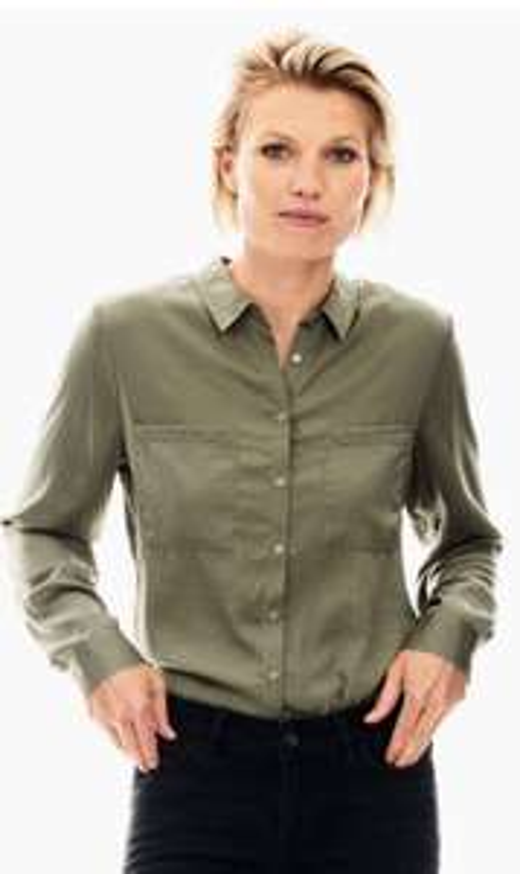 Garcia dames groene blouse