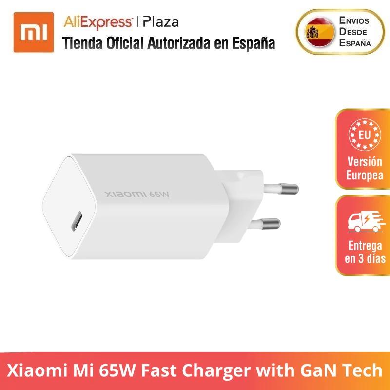 Xiaomi Mi 65W Fast Charger met GaN Tech @ AliExpress