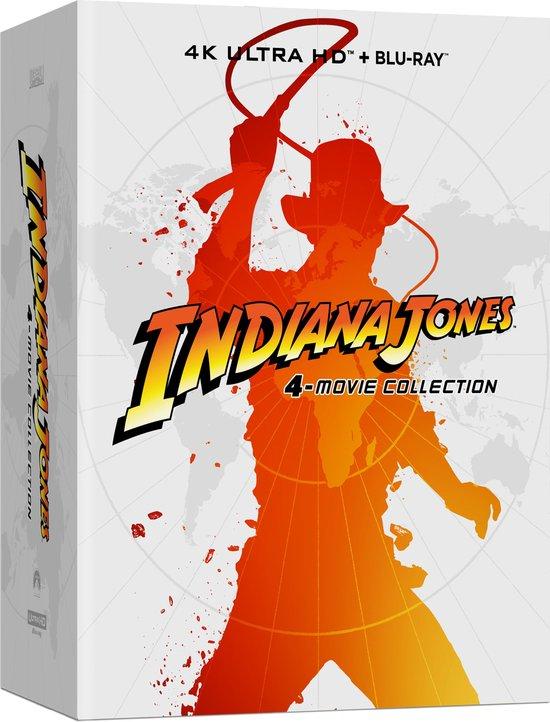 Indiana Jones Quadrilogy Collection (Steelbook) (4K Ultra HD Blu-ray) @ Bol.com