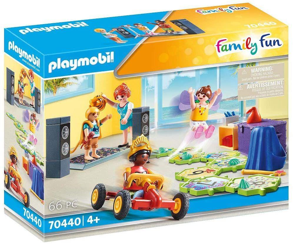 PLAYMOBIL Family Fun 70440 Kids Club, 66-delige speelfigurenset met handleiding: 4 figuren, 62 accessoires