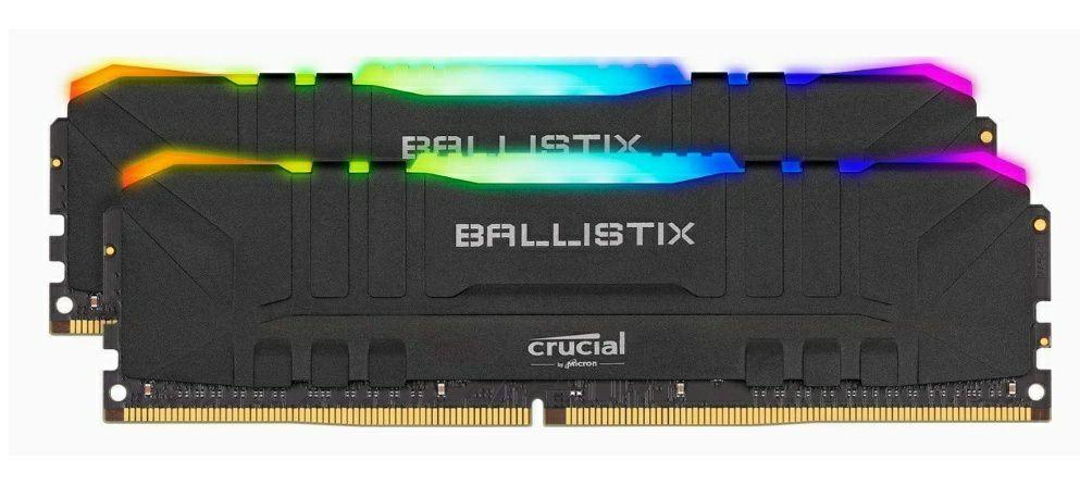 Crucial Ballistix 16GB (2X8GB, 3200Mhz, RGB, CL16)
