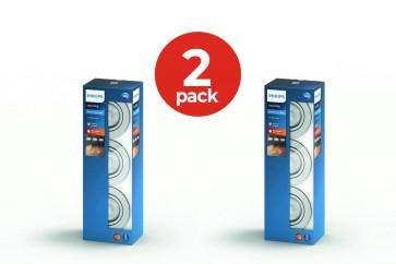 2-Pack Philips myliving 3 inbouwspots rond