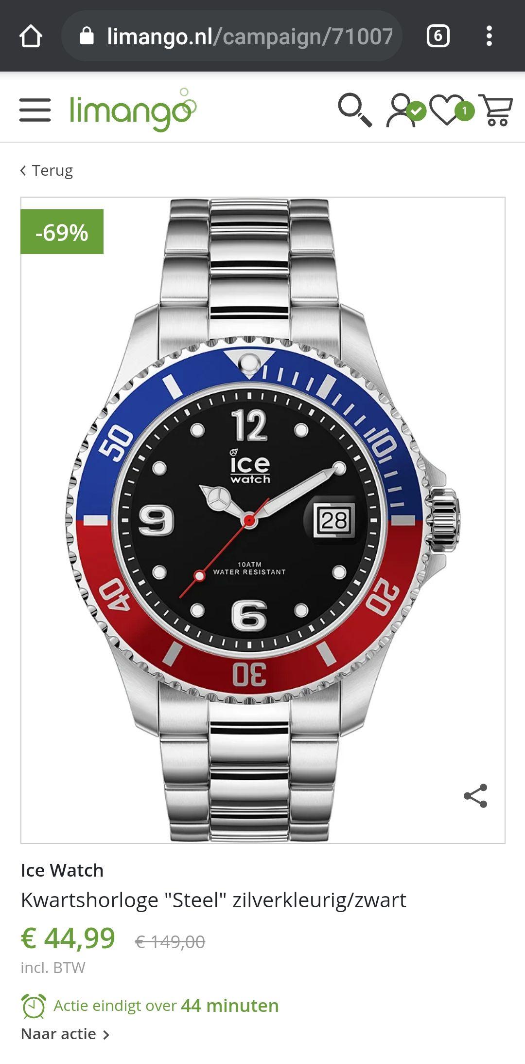 Ice watch steel