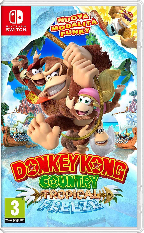 Donkey Kong Country: Tropical Freeze (Nintendo Switch) @Amazon IT