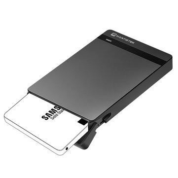 MantisTek 2.5 inch USB 3.0 HDD/SSD behuizing - uit UK