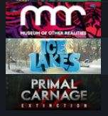(3 free weekend games) Primal Carnage: Extinction,/ Ice Lakes,/ Museum of Other Realities