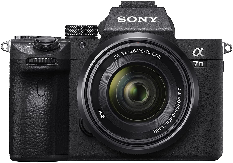 Sony Alpha 7 Mark III + 28-70mm Zoom Lens (ILCE-7M3K)