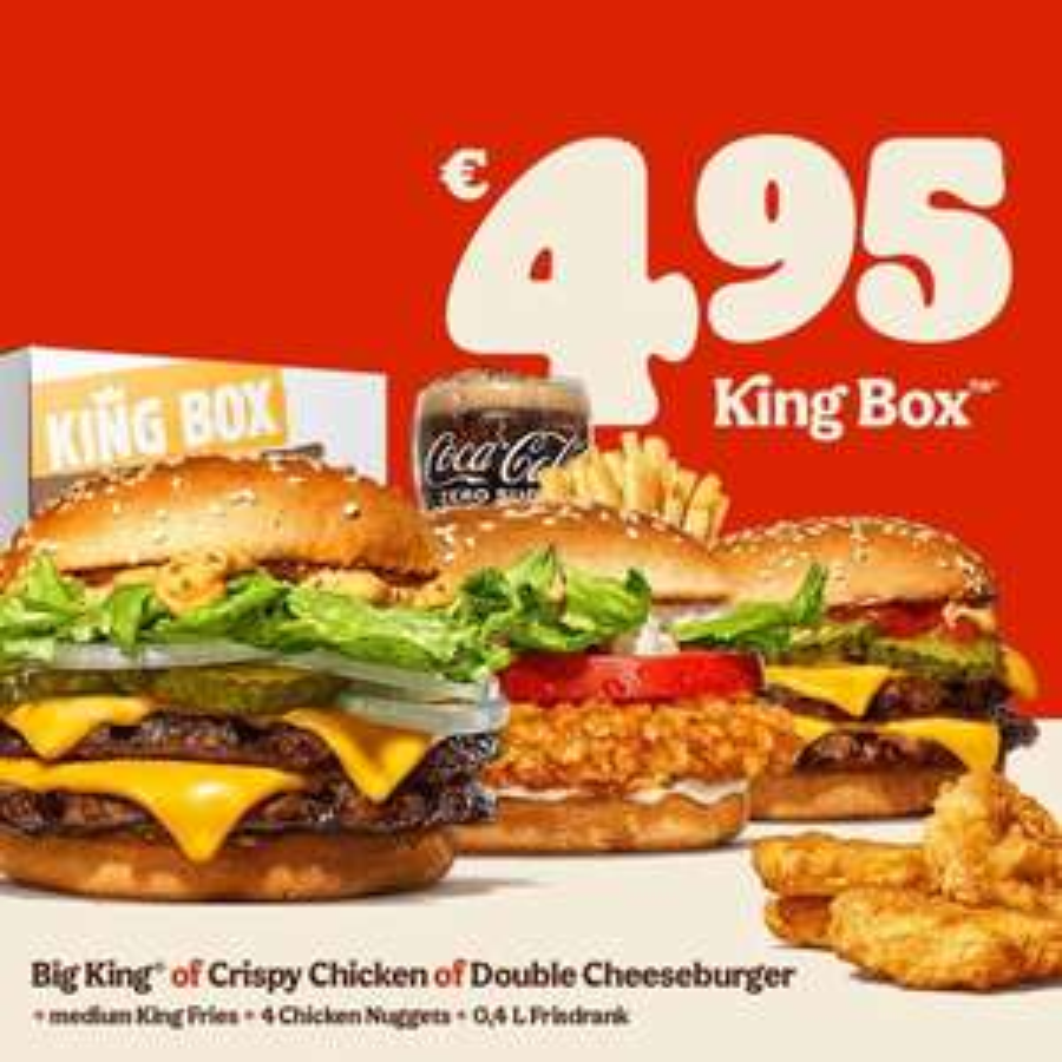 King Box bij Burger King