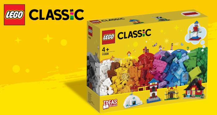Gratis LEGO Classic 11008 bij besteding aan 50 euro aan lego of lego duplo bouwsets + sleutelhanger + rugzak