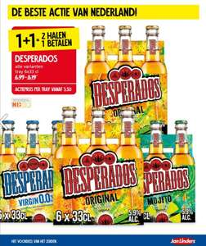 Desperados 1+1 gratis