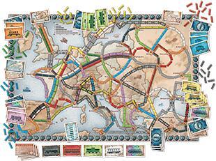 Ticket to Ride Europe €27,99 Kruidvat
