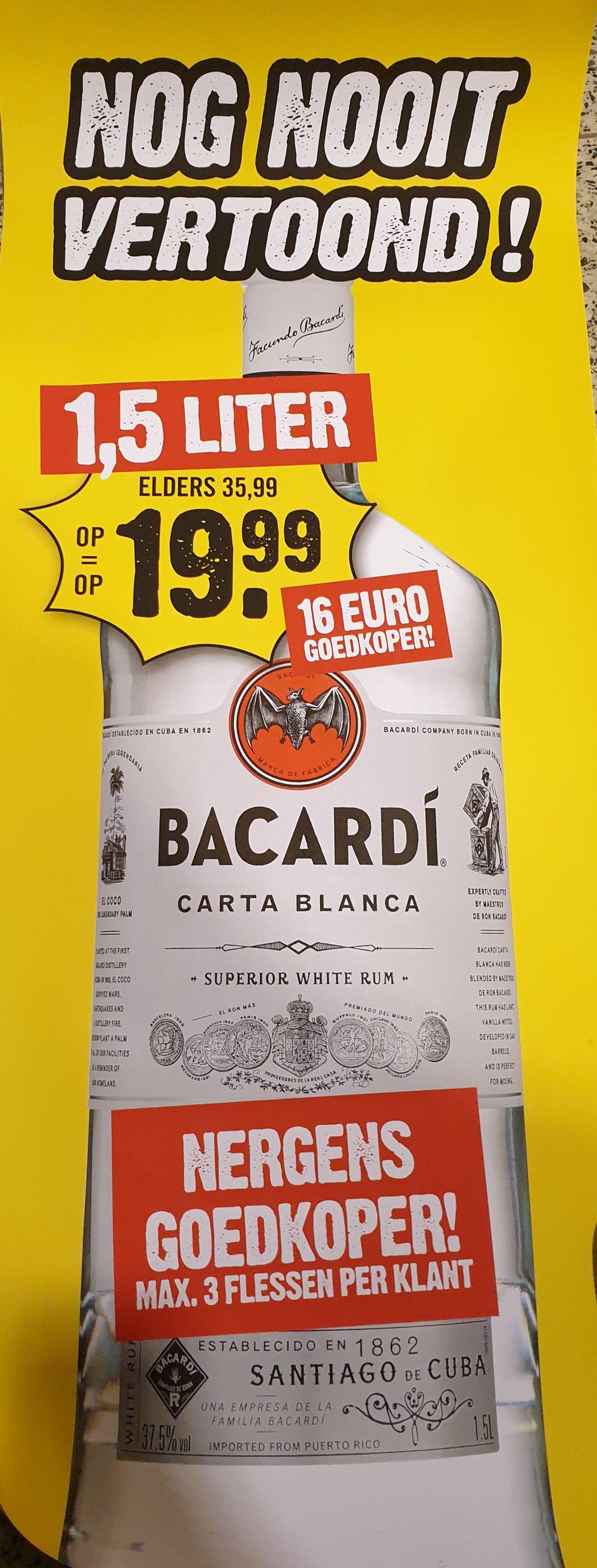 Bacardi 1,5Liter