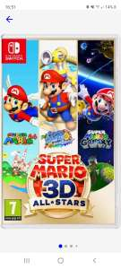 Super Mario 3D all-Stars game Switch (Frans hoesje)