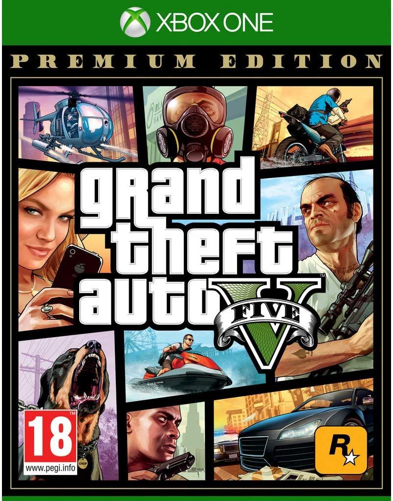 Grand Theft Auto 5 (GTA V) - Premium Edition - Xbox One @ Amazon.nl