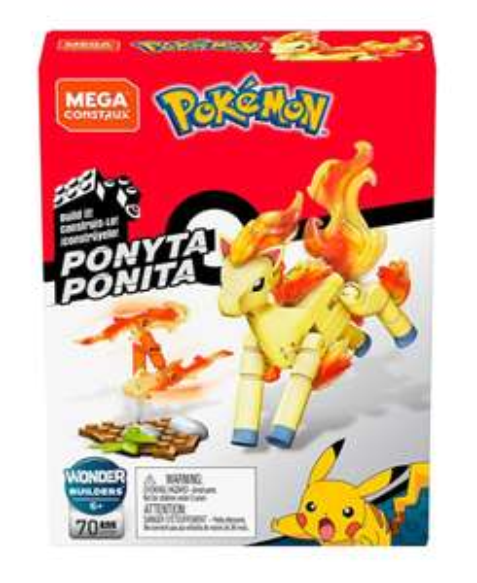 Mega Construx GKY86 - Mega Construx™ Pokémon™ Ponyta bij Amazon.nl