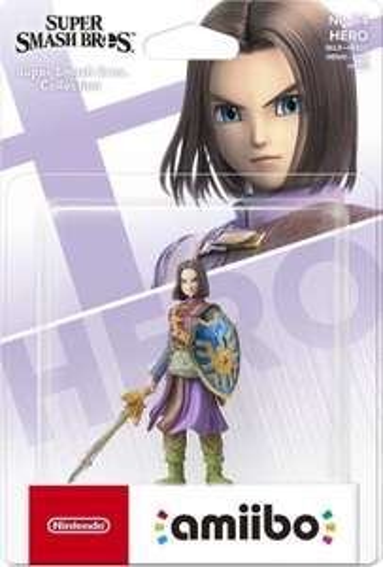 Super Smash Bros Amiibo Figuur Dragon Quest Hero