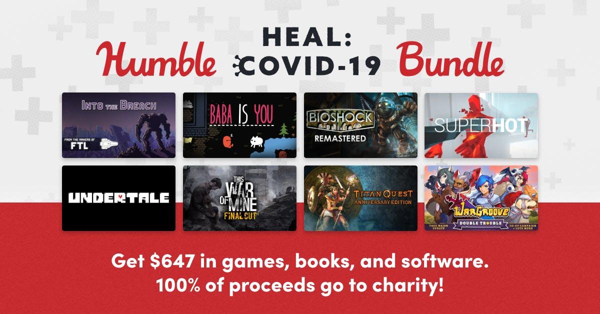 Humble Heal Covid19 Bundle