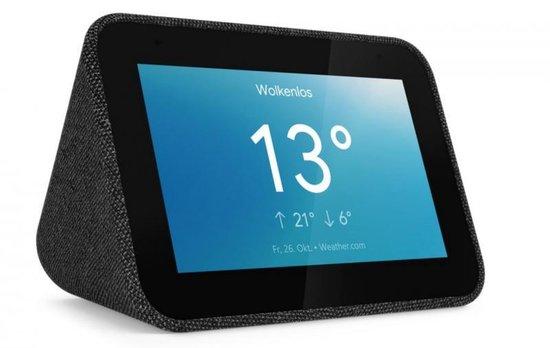 Lenovo Smart Clock met Google Assistent Zwart