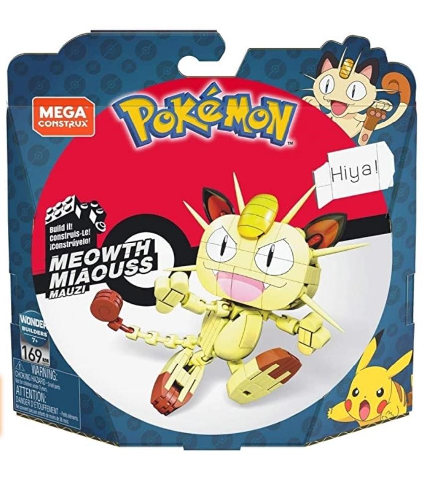 Mega Construx Pokémon Meowth bij Amazon.nl