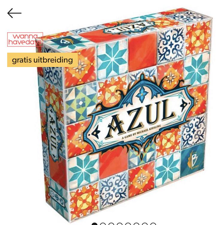 Azul met gratis uitbreiding