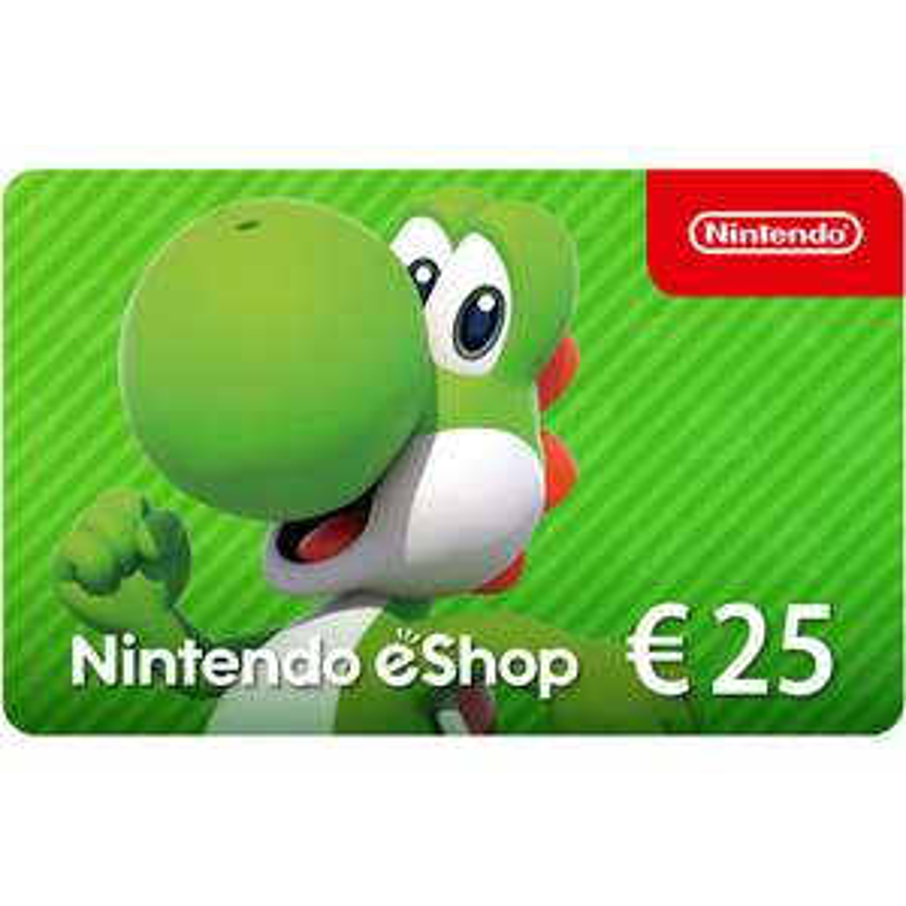 Nintendo eShop Card EUR 25 voor € 19,58