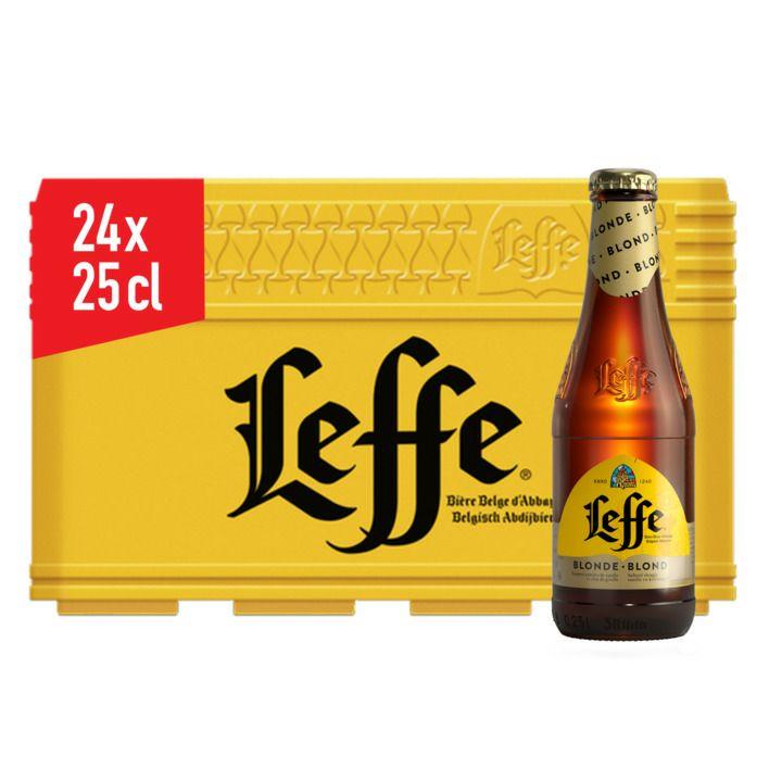 Leffe Blond krat (24 * 25 CL)