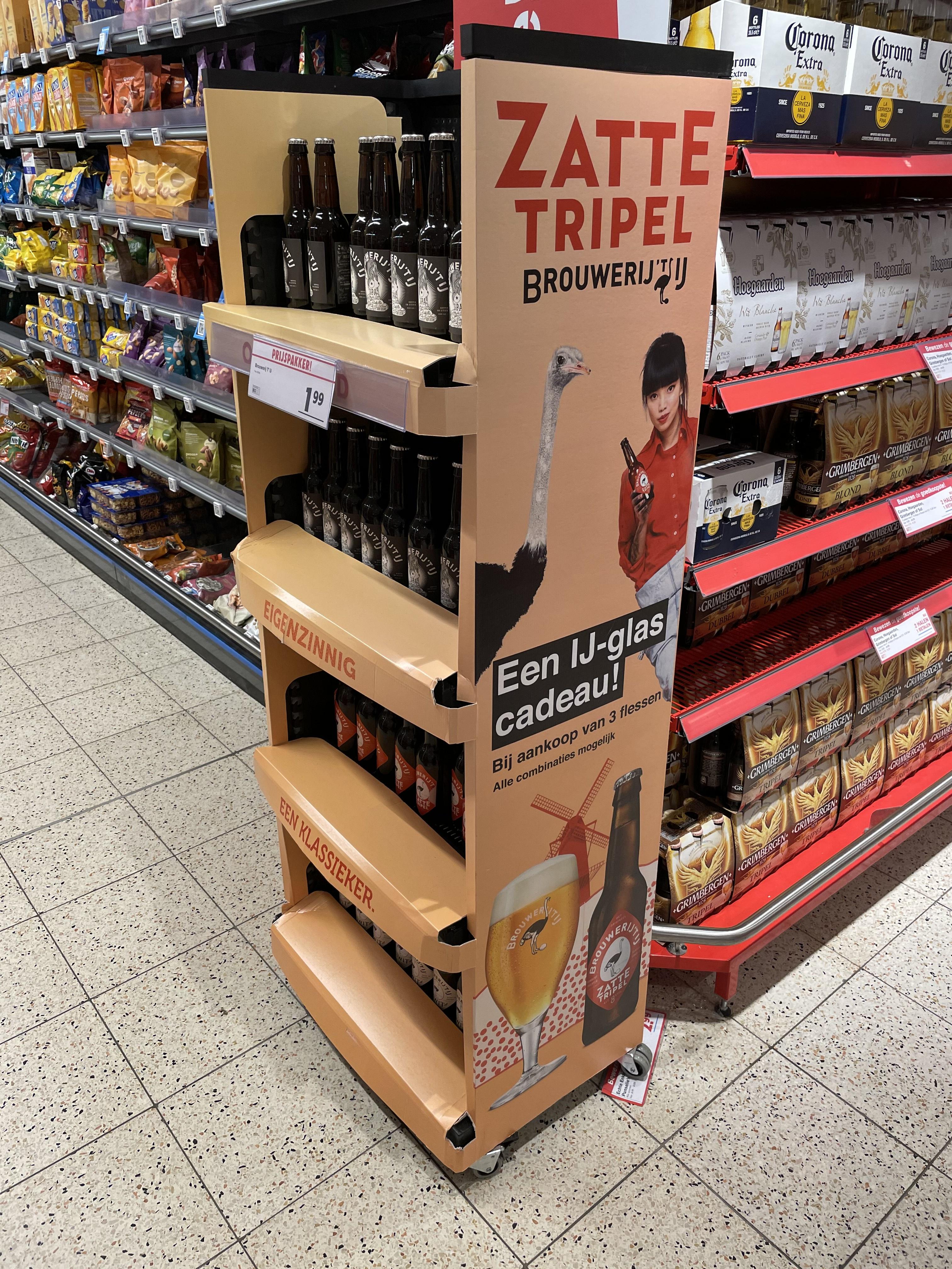 [LOKAAL?] Gratis IJ-glas bij aankoop van drie flessen Brouwerij 't IJ bij Hoogvliet Veenendaal
