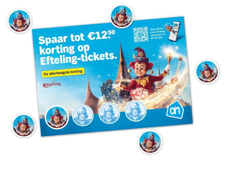 €12.50 korting op een Efteling-ticket @Albert Heijn